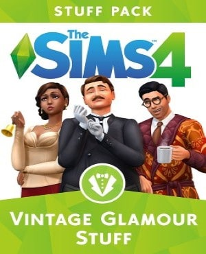 The Sims 4 Vintage Glamour Stuff Free Download game