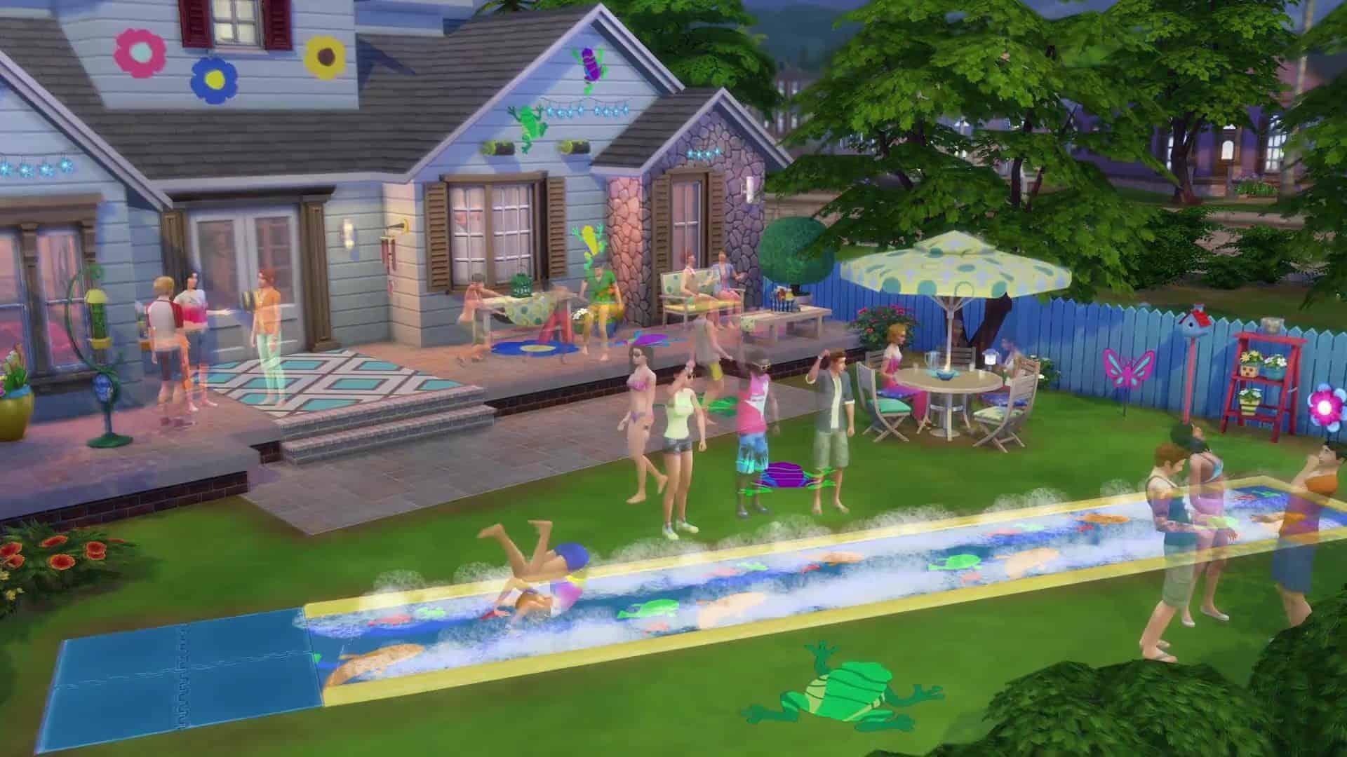The Sims 4 Backyard Stuff Download Game