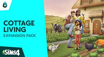 The Sims 4 Cottage Living Free game pc